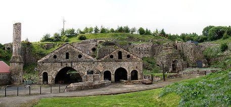 Blaenavon Industrial Landscape Ironworks, Wales