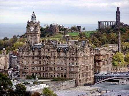 Carlton Hill, Edinburgh, Scotland