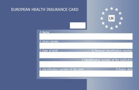 European Health Insurance Card (EHIC)