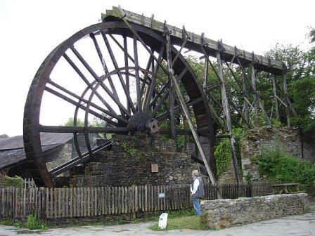 Morwellham Quay Waterwheel, Tavistock, Devon