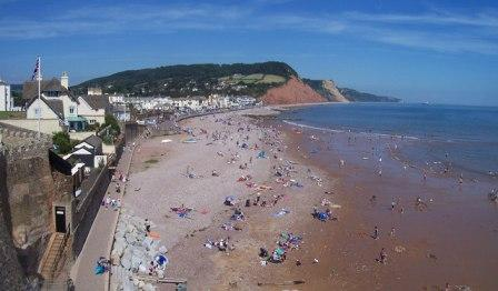 Sidmouth Seafront, Jurassic Coast