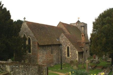 St Martin's Church, Canterbury, Kent