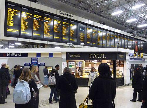 Victoria Station Train Departures, Public Transport Timetables