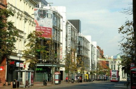 Castle Court Shopping Centre, Belfast, Northern Ireland