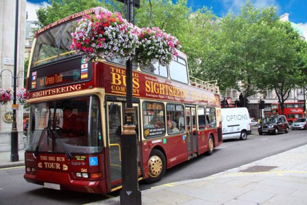 Sightseeing Tour Bus in London