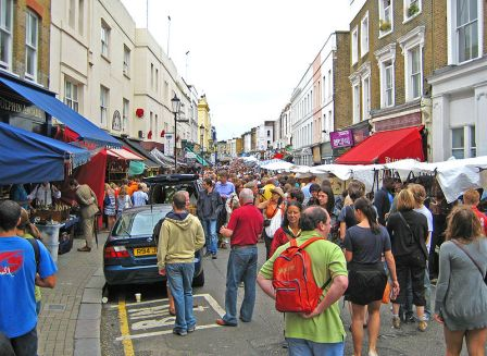 Portobello Road Market, London