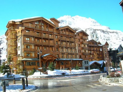 Hotel in Val_d'Isère, France