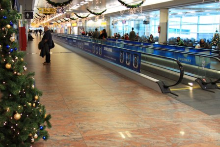 Christmas Travel at Airport