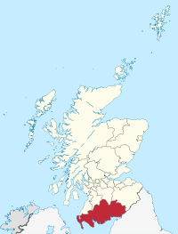 Map of Dumfries & Galloway