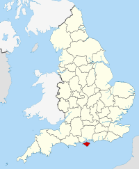 Map of Isle of Wight