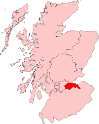 Map of Lothian