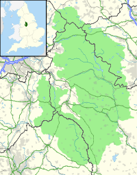 Map of the Peak District