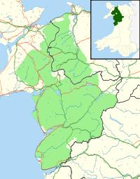 Map of Snowdonia
