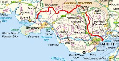 South Wales Maps | Local Search for Attractions & Services on