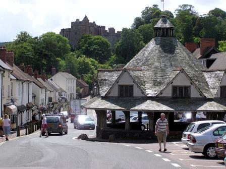 Dunster Yarn Market, Exmoor National Park in Somerset, England