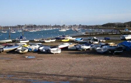West Itchenor, Chichester Harbour - Area of Outstanding Natural Beauty West Sussex
