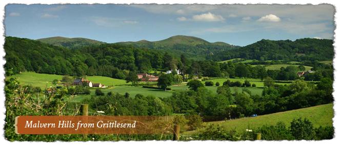 Grittlesend, Malvern Hills AONB, England