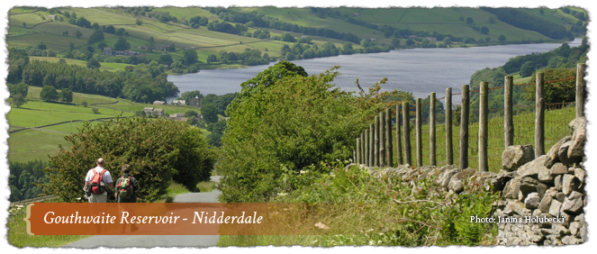 Gouthwaite Reservoir - Nidderdale AONB, England