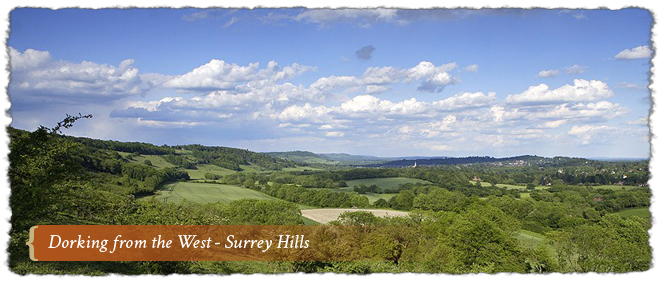 Surrey Hills Hotels Uk