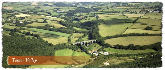 Tamar Valley AONB, Cornwall and Devon, England