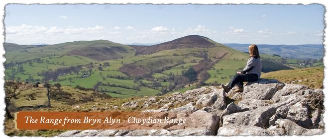 The Range from Bryn Alyn, Clwydian Range & Dee Valley AONB, Wales