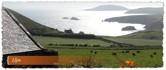 View in Llyn AONB, Wales