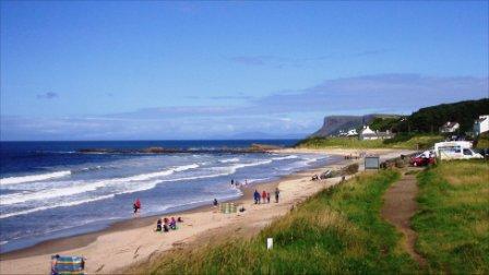 Ballycastle Beach, County Antrim, Northern Ireland